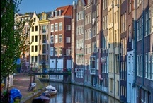 Amsterdam / A beautiful city of canals and cobbled streets, the capital of the Netherlands. We fly direct to Schiphol Airport http://www.cityjet.com/destinations/amsterdam/