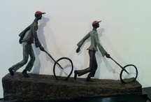 Bronze sculptures by Portchie / Sculptures I have made and casted in Bronze