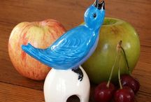 Toothpick Holders / Pie Birds / by Gladys Hagerty