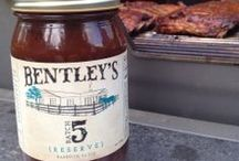 Bentley's Batch  5 Barbecue Sauces / FROM Dad, TO ME, TO YOU.