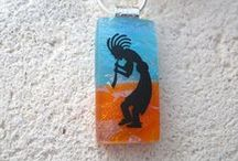 Glass Jewelry / This board exhibits handcrafted glass jewelry created by me and glass jewelry I admire created by others.
