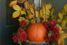 fall decorating- August thru Thanksgiving!!