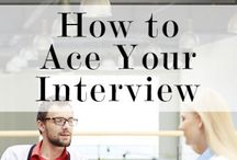 """Interviewing / There are no """"do overs"""" with interviewing.   / by Randy Block"""
