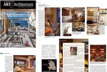 Western Art and Architecture / We are so proud to have an article in this prestigious magazine.