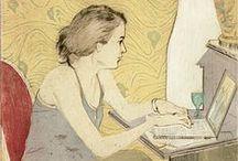 femmes / Collezione di immagini interessanti per espressività, tratto o composizione