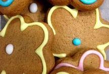 Delicious cookies within Hip Hampers / Flower honey cookies
