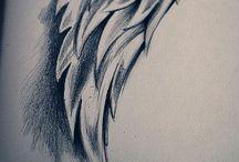 Desenhos, pinturas etc ... / Tudo que envolva sentimentos