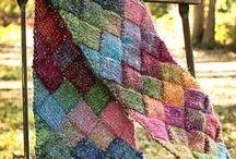 Вязание.Покрывала
