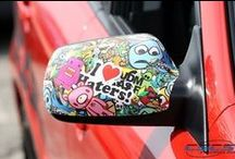 Autofolierung | STICKERBOMB / Stickerbomb Designs | Car Wrapping