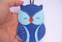 Felt-Owls
