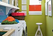 laundry rooms / a chore no more!