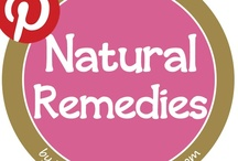 Natural Remedies / Forget chemical medications, try these natural remedies for your ailments!