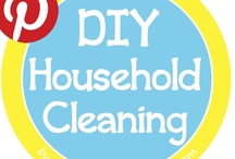 DIY Household Cleaning / Save money by DIYing effective household cleaners!