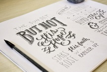 Type/Lettering / by Kimberly Oride