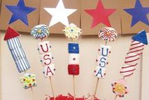 Hooray for the Red, White & Blue! / by Gina Mathis