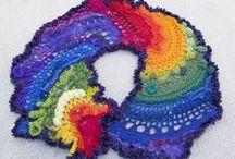 Crochet - freeform / just freeform crochet / by Pawel Dolatowski