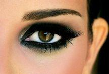 BEAUTY : The eyes make-up / Eye make-up, eyeshadow, beauty, cosmetics / by Johana Ufa