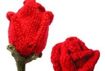 Flowers - knitted / Knitted flowers. / by Pawel Dolatowski