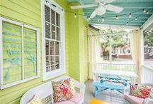 sun porch living / Let's take a nap