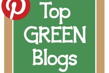 "Great Green Blogs & Websites / A collection of the best blogs and websites from top activists at all levels of ""green""."