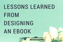 eBooks / Want to write an ebook? Looking for some good resources on turning your blog into a business? Check out these posts and get on track for publishing success.