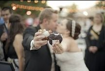 Sweet Wedding Ideas / Unique wedding ideas we love, plus real photos of couples who brought the famous  Coolhausice cream truck or pop-up bar to their wedding! Our full-service catering package includes our signature scooped-to-order ice cream sammies served in customizable edible (yes, edible!) wrappers, a custom menu of up to five cookie and five ice cream options for your guests to mix and match, + more. To request more information, visit cool.haus/catering.