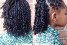 Natural hairstyles for kids!!! / Different styles, designs, and products I use on my 4 year old with natural hair. Hope this helps :)