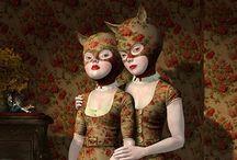 Pop-surrealism, Low-brow art & Bizzarro art / by Valeco