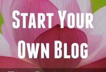 Start A Blog / Starting a blog is a great way to share your knowledge, connect with others who have the same interests as you, and feed your writing habit. Blogging is amazing. But watch out. It's also addictive. Use these pins to help you complete the first step and start a blog, then continue your education and learn HOW to blog at DebiStangeland.com ★Learn HOW To Blog★