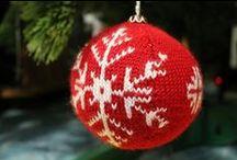Xmas (knitted balls) / by Pawel Dolatowski