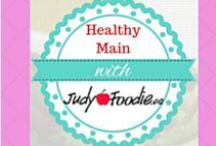 RECIPES:  Healthy Mains / Healthy Food Bloggers and Vloggers Group Board Community board for great recipes from food blogs and videos. We would love your pins too. To be invited please follow our JudyFoodie Home Economist profile and send an email to 123judyfoodie@gmail.com. No spam please and happy pinning.