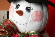 Snowmen / Snowmen fall from Heaven unassembled... / by Kathryn Janeway