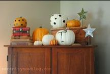 Pumpkins, goblins and ghouls oh my!  / The sights and smells of autumn