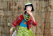 Paper mache dolls / Inspirations