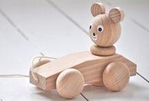 Kids ✿ Wooden toys / by Olga♡