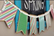 Banners, Bunting, & Garland, Oh My! / by Kathryn Janeway