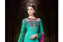 Indian Cotton Salwar Kameez / Buy all new collections of indian salwar kameez from Esaysarees.com at best price    Shop Now... / by EasySarees