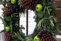 Nature Inspired Holiday Decorating