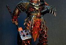Warhammer & 40k. Models and Miniatures