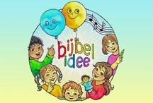 Bijbelidee voor kinderen / (Bijbel-)verhalen,prentenboeken, liedjes, lesideeën, werkbladen, poppenspel, musical, YouTubes en nog veel meer