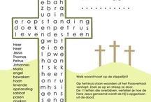 pasen woordzoekers en werkbladen