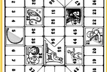 Bijbelspelletjes - ganzenbord, memory - lotto
