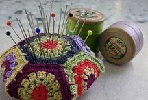 con estas manitas... (crochet and other crafts) / Manualidades varias (con papel, lana, madera, etc)