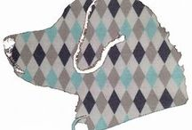 Argyle Designs / Here is a glance at our products in our Fun Designs Category. **Please double check website for product availability** www.BarkingMadDogwear.com