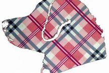 Plaid Designs / Here is a glance at our products in our Plaids Designs Category. **Please double check website for product availability** www.BarkingMadDogwear.com