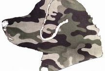 Camo Designs / Here is a glance at our products in our Camo Designs Category. **Please double check website for product availability** www.BarkingMadDogwear.com