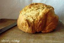Pan - bread / pan casero, pan dulce, pan salado, panes del mundo y demás parientes