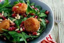 Ensaladas - salads / ensaladas de todo tipo