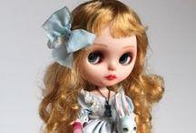 Blythe dolls / Un poco especiales: o te encantan o las odias. A mí lo primero. // A bit special: either you love or hate. Me first.