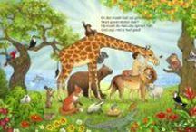 schepping - Kerst - Pasen - Pinksteren / God houdt van Zijn schepping, Adam en Eva, en jou!  You tubes over de schepping, zondeval, Jezus komt op aarde en Hij herstelt wat in het begin is fout gegaan